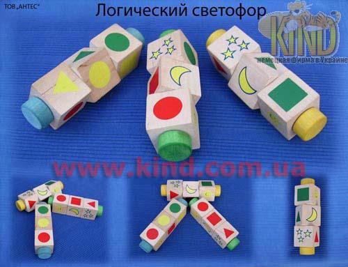 Развивающие игрушки из дерева логические