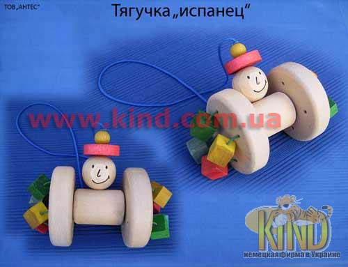 Деревянные игрушки детские