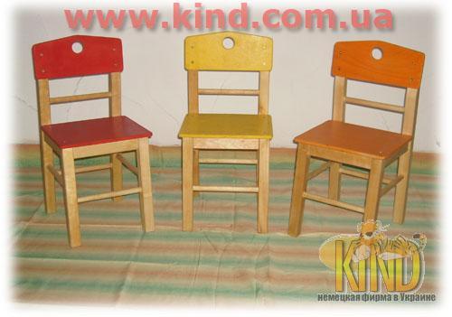 Купить деревянный стульчик в детский сад