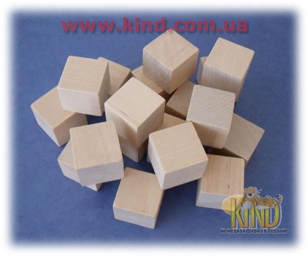 Набор деревянных кубиков для детей