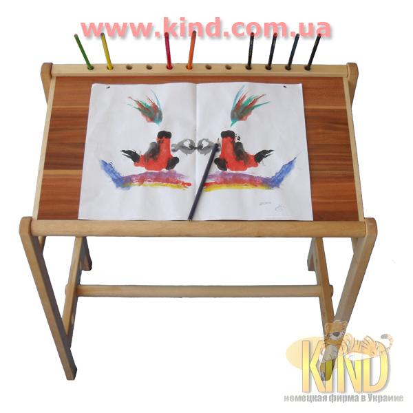 Стол для детского творчества из натурального дерева