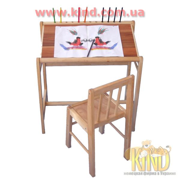 Детские регулируемые столы для рисования