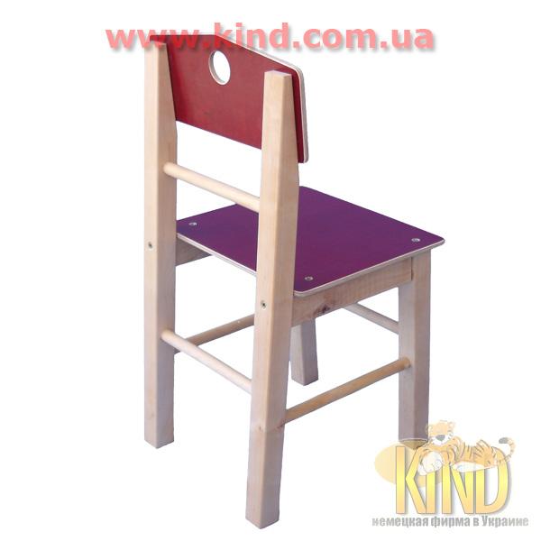 Элитный стульчик из натурального дерева