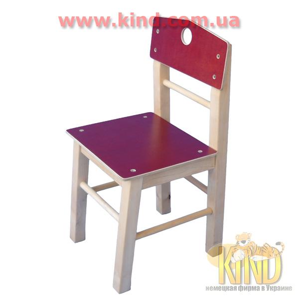 Деревянный детский стол и стульчик