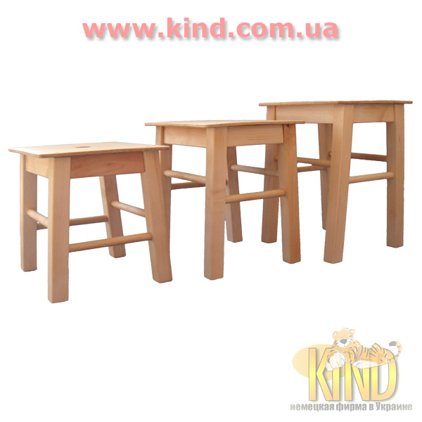 Детские стулья из дерева