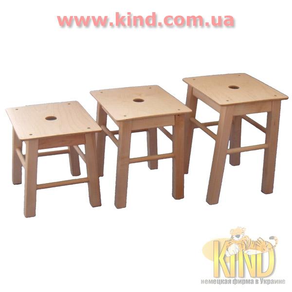Купить детские стульчики из натурального дерева