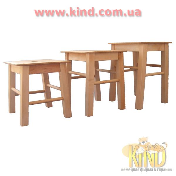 Детские деревянные стульчики в детсад