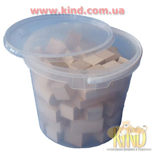 Набор деревянных кубиков для малышей