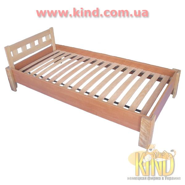 Кровать для школьника деревянная