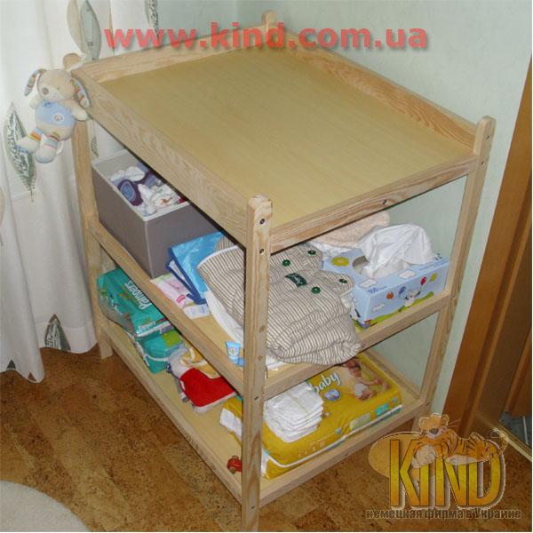Пеленальный столик в детскую комнату