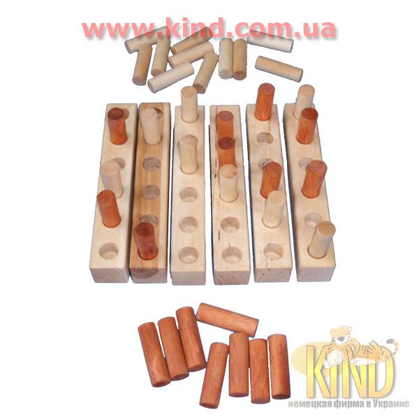 Развивающие игрушки из дерева деревянные