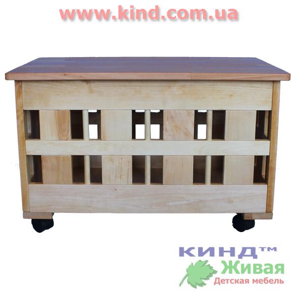 Шкаф для детских игрушек для ребенка