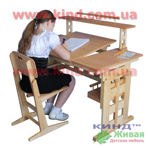 Мебель из дерева в детскую комнату