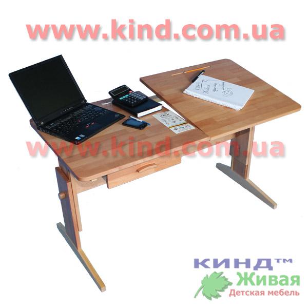 Деревянная мебель в детскую комнату парта