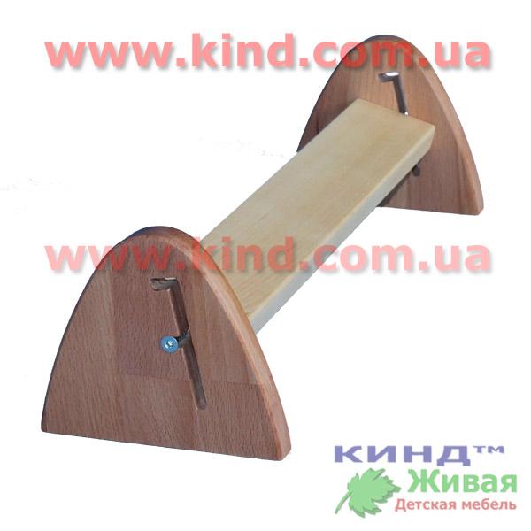 Дитяча підставка для ніг з дерева
