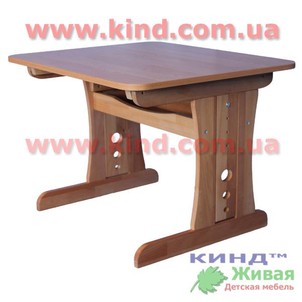 Письменные столы для детей из натурального дерева