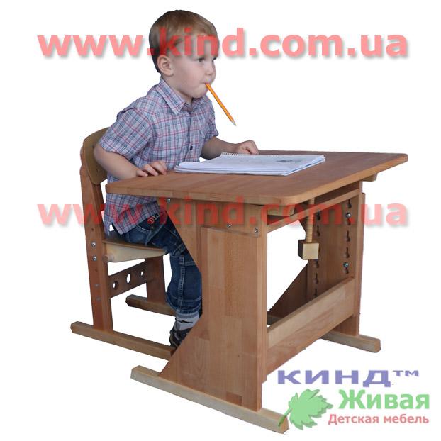 Мебель в детские сады из натурального дерева