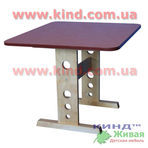 Детский деревянный стол бюджетный