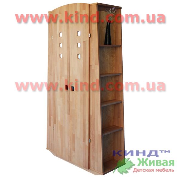 Детский деревянный шкаф для малышей