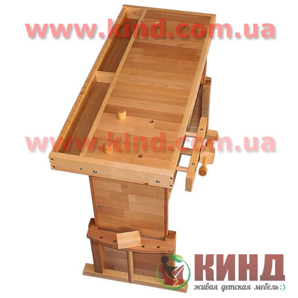 Верстак для детей деревянный