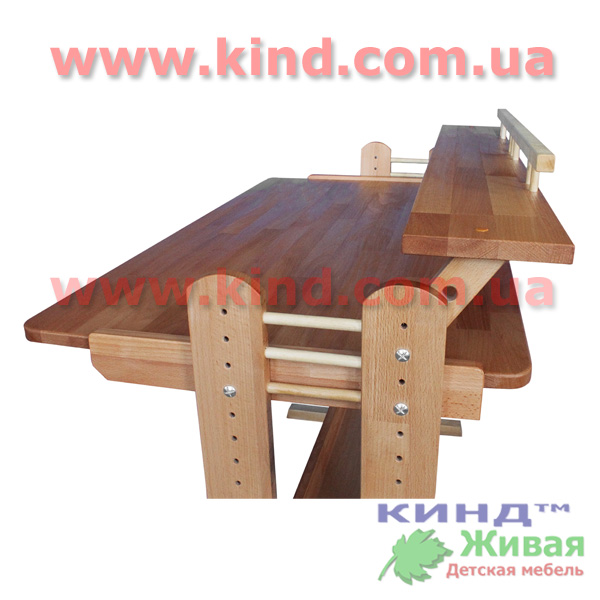 Детские парты и столы из дерева
