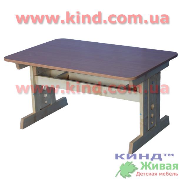 Детский деревянный стол регулируемый