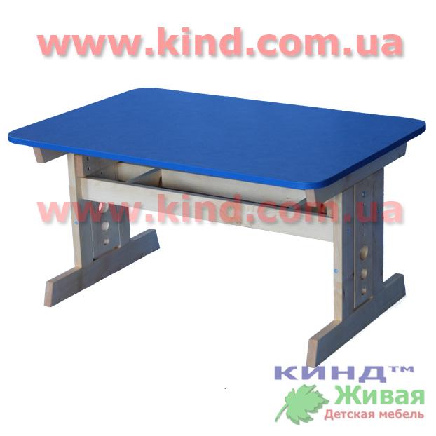 Детский деревянный стол растущий