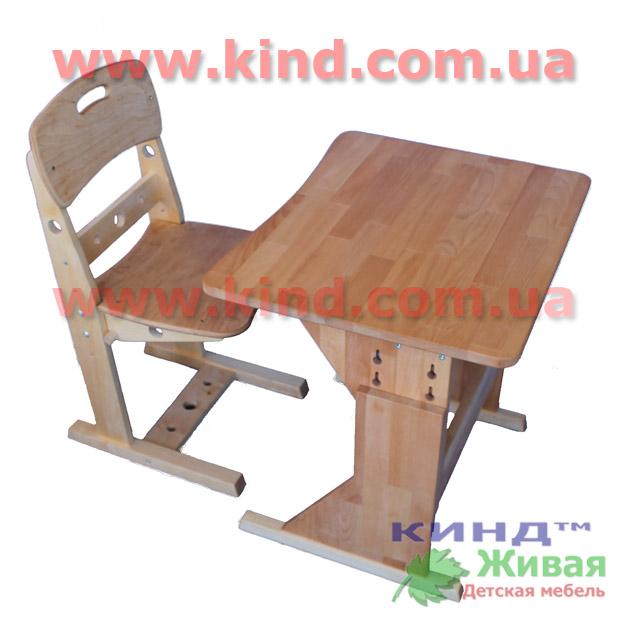 Как выбрать парту деревянную