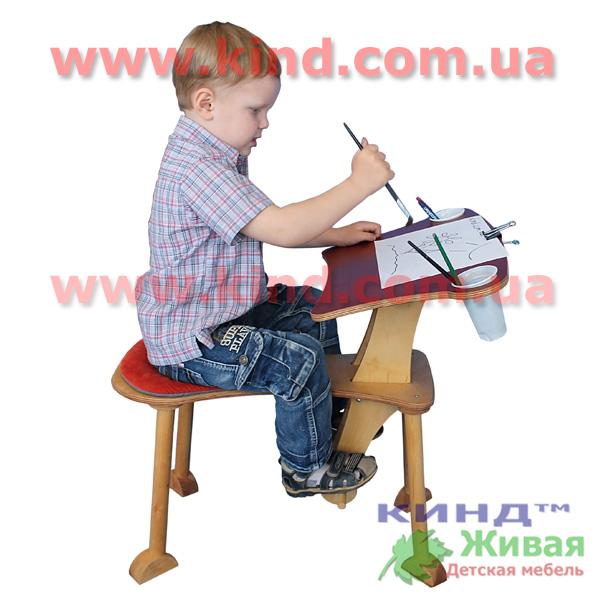 Детские регулируемые столы творческие
