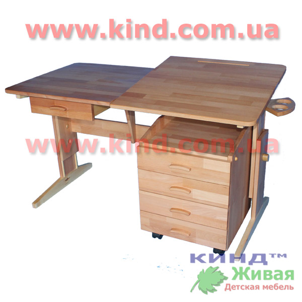 Деревянная регулируемая детская мебель