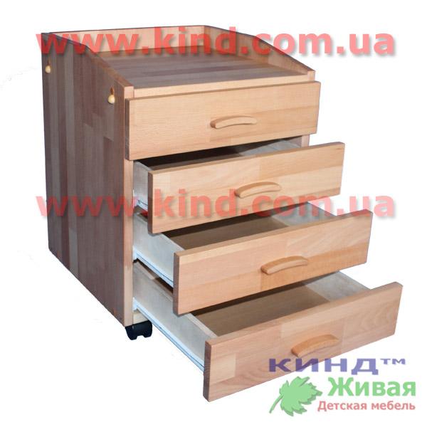 Детская мебель из массива для малышей и школьников