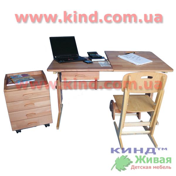 Подростковая мебель из натурального дерева