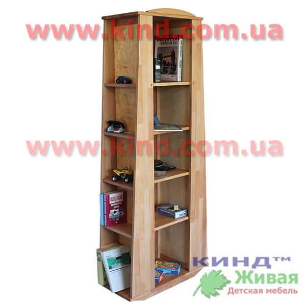 Детский деревянный шкаф и стеллаж