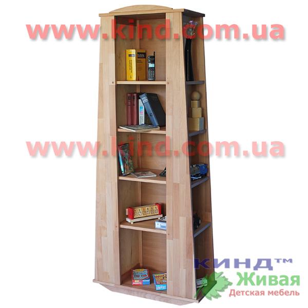 Шкаф в детскую комнату из массива