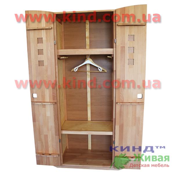 Детский деревянный шкаф для подростков