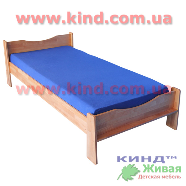 Детский деревянный шкаф и кровать