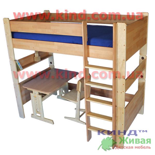 Двухъярусные кровати для детей из бука