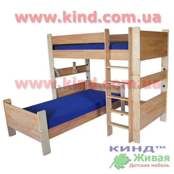 Двухъярусная кровать для ребенка
