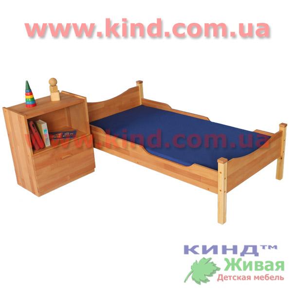 Деревянные кровати из дерева для детей