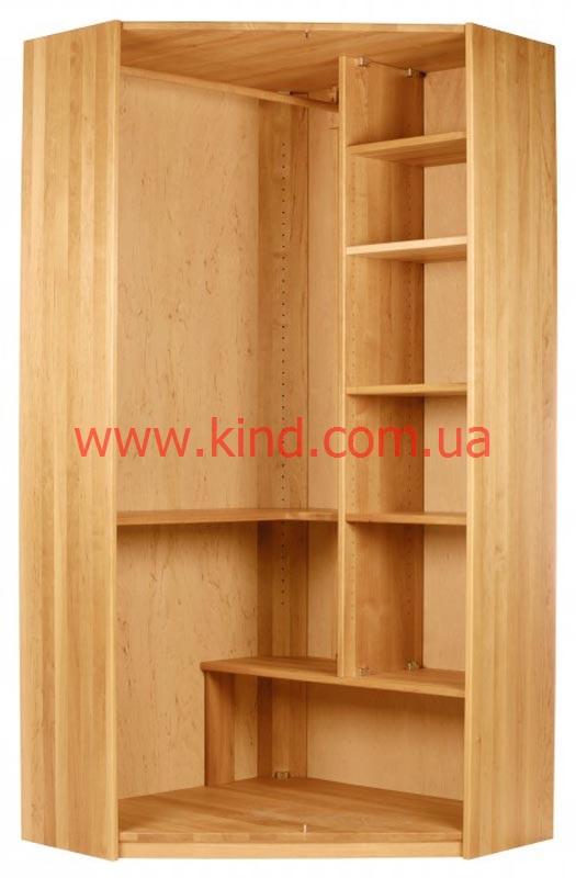 Угловой шкаф в детскую комнату от КИНД